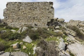 Antiken Ruinen auf der Insel Elba