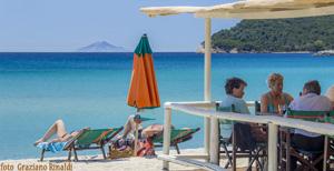 Der Strand von Marina di Campo