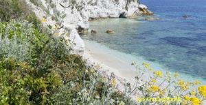 Padulella Strand auf Insel Elba