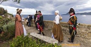 Nachstellung 2014: Napoleon auf Elba