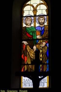 Mosaik der Kirche von San Piero auf der Insel Elba