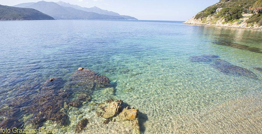 Strand von Forno, Portoferraio, Insel Elba