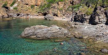 Der schöne Strand von Felciaio auf Insel Elba