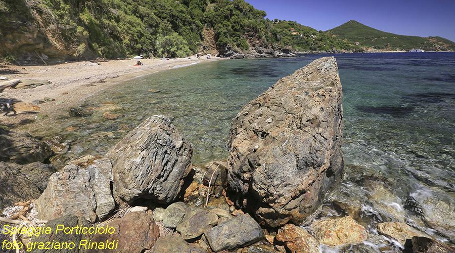Insel Elba, Porticciolo, Mittelmeer, Strand