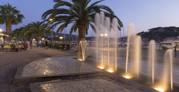 Insel Elba, Porto Azzurro, Italien, Toskana, Mittelmeer, Sommerferien