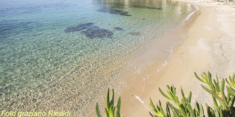 Forno Strand, Insel Elba, Strand, Mittelmeer, Italien, Toskana, Sommer, Ferienwohnungen