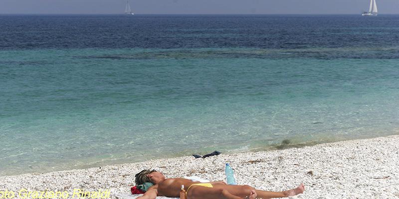 Le Ghiaie, Portoferraio, Insel Elba, Strand, Mittelmeer, Italien, Le Ghiaie, Toskana, Sommer, Ferienwohnungen