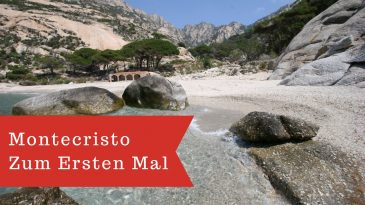 Montecristo, Insel Elba. Mediterranean sea, italian islands
